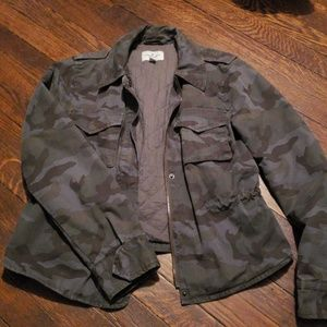 American Eagle outfitters camoflauge Jacket
